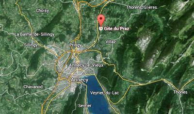 Près d'Annecy en Haute-Savoie